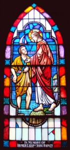 Jesus calls Peter and Andrew from their nets